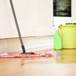 how to make a hardwood floor smell good