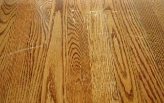 fixing scratch marks in hardwood floor