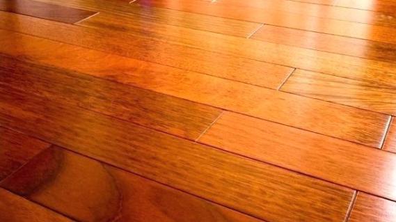 slick hardwood floors