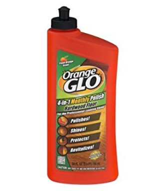 Orange Glo Hard Wood Floor 4-in-1 Monthly Polish