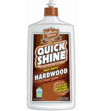 Quick Shine High Traffic Hardwood Floor Luster and Polish