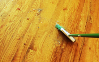 How to get rid of dust from hardwood floors