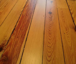 Gaps in hardwood floor