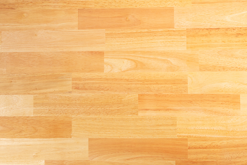 What is rubber wood flooring