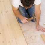 How do you fix spongy wood floors?